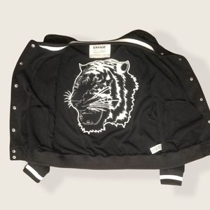 100% Cotton Bomber Jacket Tiger Logo